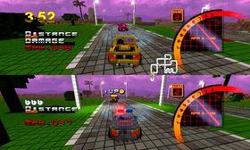 3D Pixel Racing (Wii).