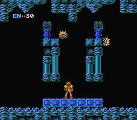 Metroid til NES.