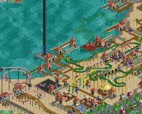 Rollercoaster Tycoon 2 (PC).