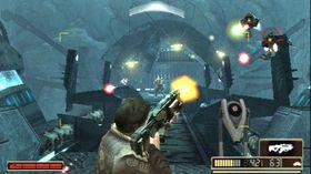Resistance: Retribution på PSP.