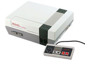 Nintendo Entertainment System fra 80-tallet. Foto: Wikipedia