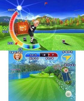 Let's Golf! 3D (3DS).