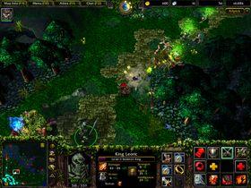 Bilde fra Warcraft 3-modifikasjonen DotA: Allstars.