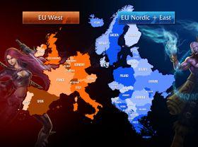 Det nye Europakartet.