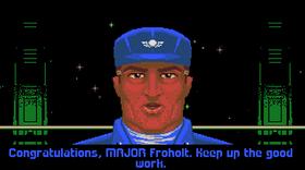 Forfremmelse (bilde fra Amiga-versjonen).