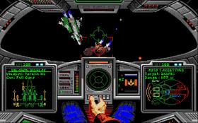 Amiga-versjonen hadde kun 16 farger, men så ikke så gal ut likevel.