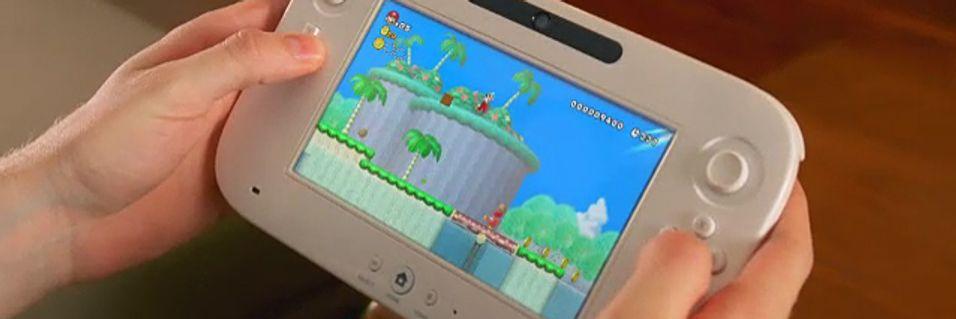 Wii U kan støtte to kontrollere