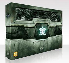 Fyldige StarCraft II: Collector's Edition.