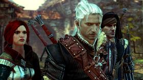 Geralt og vennene hans.