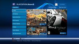 PlayStation Store er på vei tilbake.