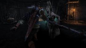 De avdøde er ikke så glad for at Geralt inspiserer likene deres.