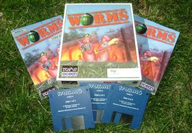 Originalutgaven på Amiga (bilde: Joachim Froholt).