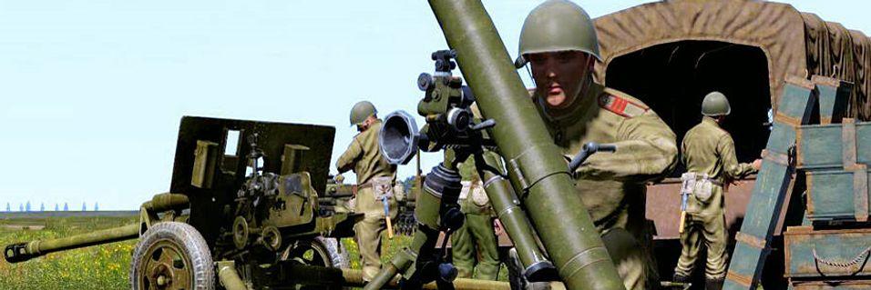 Taktisk skyting med ArmA-motor