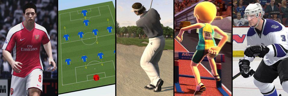 De 5 beste sportspillene akkurat nå