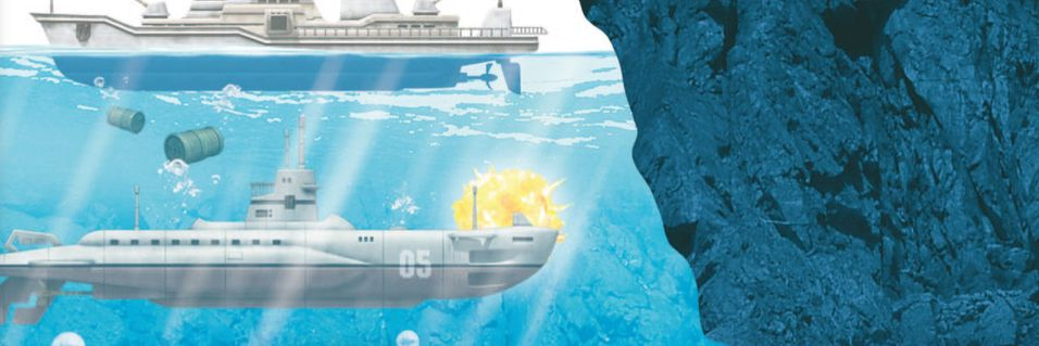 Ubåt-action i mai