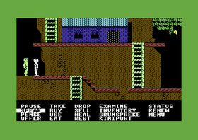 Below the Root (her på Commodore 64).