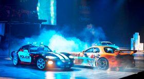Foto fra et tidligere Top Gear Live-show.