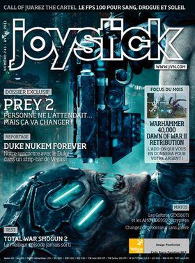 Joystick-forsiden