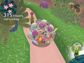 Katamari-prinsen og blomsterballen hans