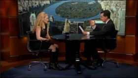 Jane McGonigal hos Stephen Colbert.