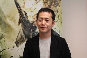 Mannen med hovedansvar for spillet, Kazutoki Ono. (Foto: Lasse Lervik/Gamer.no)