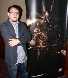Hidetaka Miyazaki, produsent for Dark Souls. (Foto: Lasse Lervik/Gamer.no)