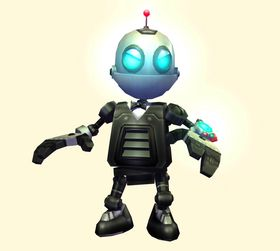 Robotvennen Clank.