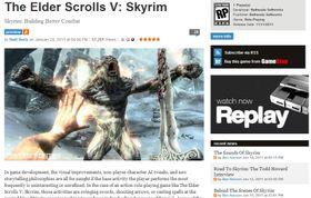 Faksimile fra GameInformer.