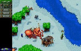 Originale Cannon Fodder. Bilde fra Good Old Games.