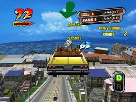 Crazy Taxi indeed.