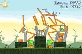 Angry Birds (iFormatene, Android, PC og Mac).