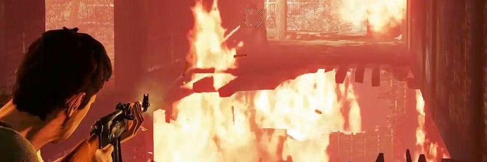 Se Drakes flammekamp