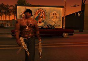 CJ er bare en av mange skumlinger i San Andreas.