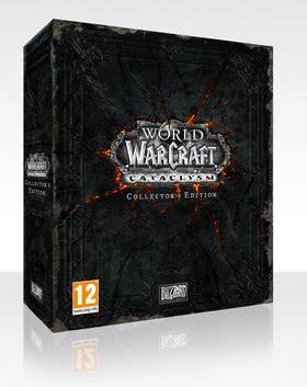 World of Warcraft: Cataclysm Collector's Edition.