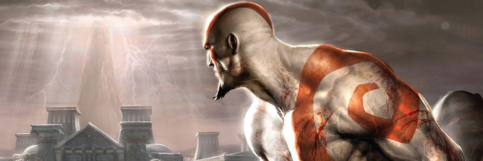Kratos slåss i Mortal Kombat