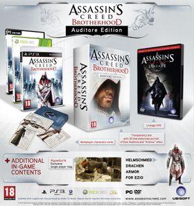 Assassin's Creed: Brotherhood Auditore Edition.