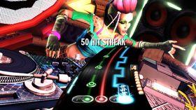Bildene er fra det første DJ Hero.