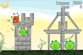 Angry Birds er en gigantsuksess på Apple-plattformen.