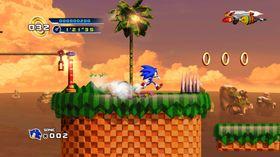 Sonic the Hedgehog 4: Episode 1 (Xbox 360, PS3 og Wii).