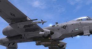 Lek pilot i A-10C Warthog