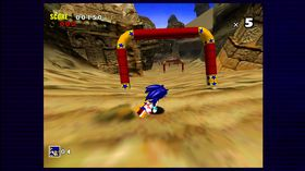 Sonic Adventure (Xbox 360, PS3 og DreamCast).