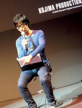 Hideo Kojima. My hero (Foto: Thomas Heger/Gamer.no).