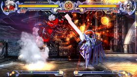 BlazBlue: Calamity Trigger (PC, Xbox 360 og PS3).