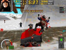 Blood Drive kan høres litt ut som supersnodige og -voldelige Carmageddon.