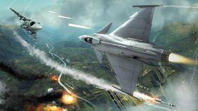 Bilde fra Ubisofts kommende Tom Clancy's HAWX 2.