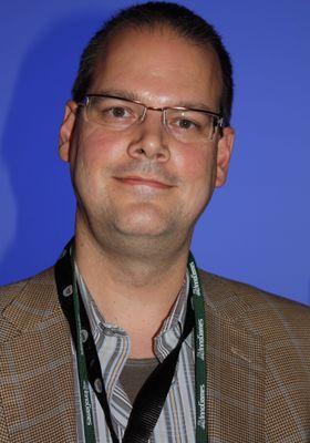 Dr. Ray Muzyka, medstifter av BioWare. (Foto: Mikael Harstad Groven, Gamer.no)