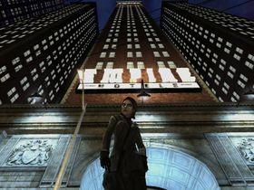 Bilde fra kritikerroste Vampire: The Masquerade - Bloodlines, som deler setting med MMO-et.