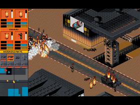 Bilde fra det første Syndicate-spillet.