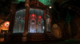 Atmosfærebilde fra BioShock, Ken Levine og Irrational Games forrige spill.