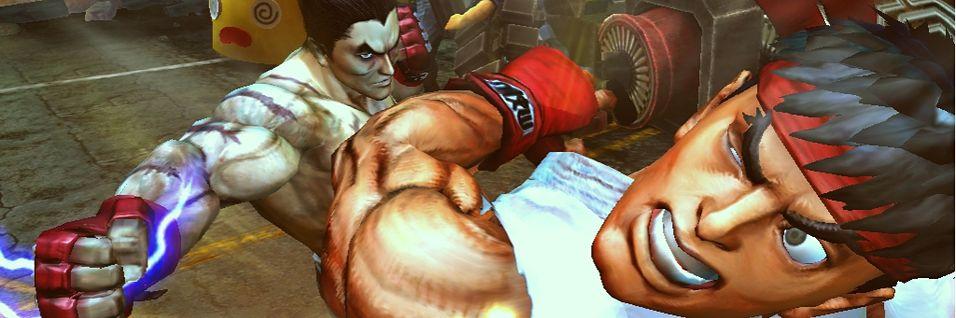 Og Tekken møter Street Fighter